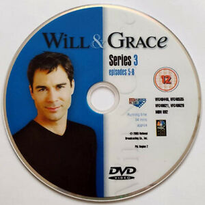 Will And Grace (DVD) Disc Only - Series 3 - Episodes 5-8 - (2003)