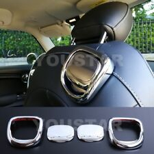 AU STOCK 2x BRIGHT CHROME Seat Release Handle Trims MINI Cooper S 3DR F56 F57