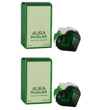 2pz AURA THIERRY MUGLER profumo donna edp eau de parfum 5ml miniature NUOVE