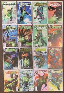81 Green Lantern #1-67 Geoff Johns 2005 with crossovers DC Comics Complete Set