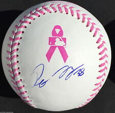 PETE KOZMA SIGNED PINK MOTHERS DAY BASEBALL ST LOUIS CARDINALS PROOF J8