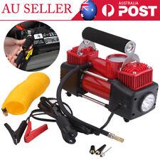 New 2 Cylinder 12V 150PSI Air Compressor Tyre Inflator Pump for Car Van Tire AU