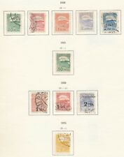 Estonia 1920 - 1921 - 1924 Used and MH Stamps (10)