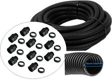10m of 25mm Cable Conduit – Flexible Enclosure Trunking Tube Outdoor/Underground