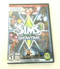 New The Sims 3 Showtime Expansion Pack Limited Edition Win Mac DVD-Rom Software