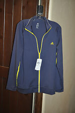 Adidas ClimaCore Performance Urban Sky/Vivid Yellow Jacket NWT -XL