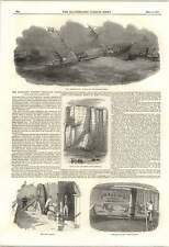 1853 Cavo sottomarino Telegrafo elettrico dall'Inghilterra in Belgio