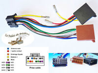 Câble adaptateur faisceau ISO 16 pin pour autoradio PIONEER