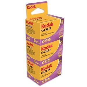 KODAK GOLD 200/36  3 Filme  MHD/expiry date 09/2023 NEUESTE WARE