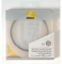 NEW Nikon NC Neutral Color filter protection UV 77mm