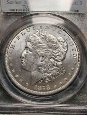 More details for 1878 morgan dollar ms63 graded pcgs