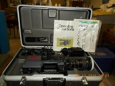 PANASONIC COLOR VIDEO CAMERA,PROF.VIDEO VHS,VIDEO MONITOR,CORDS & CONNECTIONS,