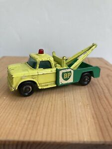 MATCHBOX SERIES No13 DODGE WRECK TRUCK MADE IN ENGLAND BY LESNEY (BP)