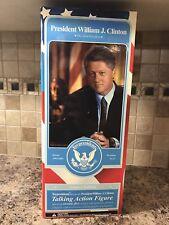 2003 President William J. Clinton  Talking Action Figure TOYPRESIDENTS Ltd Edit.