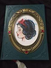 Disney Store D23 Expo Art Of Snow White Princess Journal Notebook Apple Charm