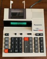 Panasonic 12 Digit Two Color Printing Calculator JE-656NP Electric Desktop