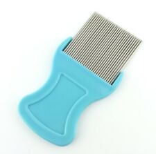1 PC Hair Lice Comb Brushes Terminator Fine Egg Dust Nit Removal Stainless Steel