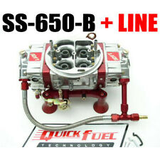 QUICK FUEL SS-650-B 650 CFM MECH BLOW THROUGH DOWN LEG WITH #6 RED LINE KIT