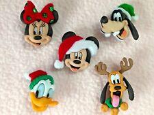 Dress It up Disney Buttons - 5pcs Holiday Heads