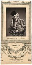 Lemercier, Paris, acteur, Gymnase, François-Louis Lesueur (1819- 1876) Vintage P