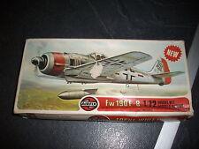 AIRFIX  FOCKE-WULF 190 F-8 PLASTIC MODEL 1/72