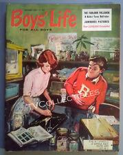 Magazine~ BOYS LIFE ~September 1960 ~Boy Scouts ~Sports ~Swimming ~Comics ~Ads