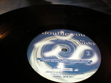 "Double You Do You Wanna Be Funky 12"" VINYL Euro House That's the Way Love is"