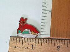 Red Fox Pin (Vintage hard enamel) *