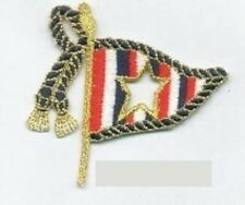 Nautical Boating Signal Flag Embroidery Applique Patch