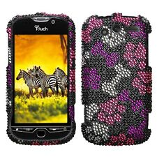 Puppy Lover Bling Hard Case Phone Cover HTC myTouch 4G