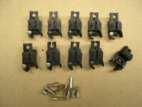 10 Repro American Flyer Universal Knuckle Couplers + Split installation rivets