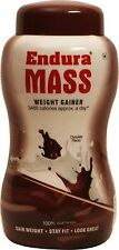 NEW ENDURA MASS CHOCOLATE WEIGHT GAINER 1KG (35.274oz) | Free Shipping