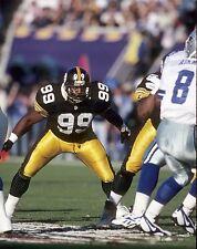 Pittsburgh Steelers Levon Kirkland Unsigned 8x10 Photo
