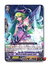 Cardfight Vanguard  x 4 Witch of Godly-Speed, Emel - EB11/020EN - C Pack Fresh M