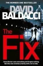 NEW The Fix By David Baldacci Paperback Free Shipping