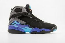 2015 AIR JORDAN 8 (VIII) RETRO AQUA 305381-025 sz 13 chrome playoff 1 3 4 5 6 11