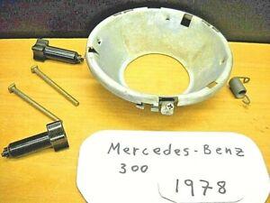 Jun 1978-1985 Mercedes Benz 300 Headlight Bucket Part