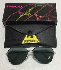Tasco Glasses 1119S Smoke (gray) Plastic Lens, Silver Frames