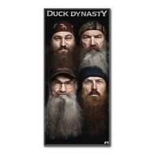 Duck Dynasty Beards 28x58 Fiber Reactive Cotton Beach Towel