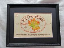 ANCHOR BIGLEAF MAPLE AUTUMN RED BEER SIGN   #1069