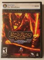 LORD OF THE RINGS Online: Mines of Moria (PC 2008) Complete Edition + Booklet ++