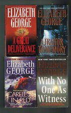 Careless In Red,A Great Deliverance,A Traitor To Memory + 1 by Elizabeth George
