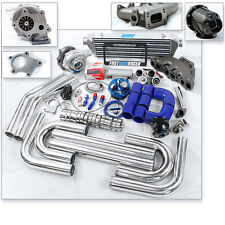 T3 T3/T4 Turbo Kit Turbo Manifold 94-02 Jetta Golf Passat Corrado VR6 2.8L 12V