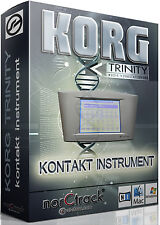 Korg Trinity Plus Samples Sounds NI KONTAKT NKI norCtrack Kontakt Instrument