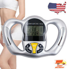 Digital LCD Body Mass Index Fat Analyzer Monitor BMI Meter Tester Health Care US