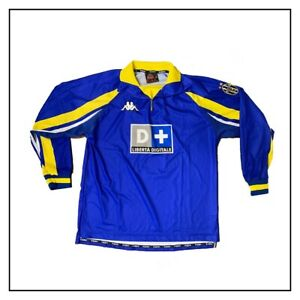 juventus terza maglia ufficiale 1998/99_kappa_blu_size M