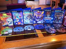 Cliquet donald duck dinosaure narnia spyro mada PS2 Playstation 2 games bundle