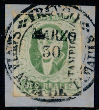 aa07 Mexico #3b 2R Plate 1 Olive Tampico Sz 1585 Vf Example on Pc Est $60-100