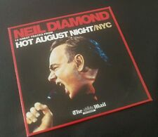NEIL DIAMOND 10 GREAT TRACKS FROM HOT AUGUST NIGHT/NYC CD