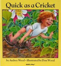 Child's Play Library: Quick As a Cricket by Audrey Wood (1982, Big Book)